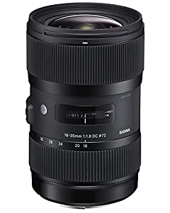 Sigma 18-35mm F1,8 DC HSM (Filtergewinde 72mm) für Nikon Objektivbajonett schwarz