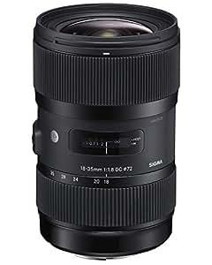 Sigma 210205 18-35mm F1.8 DC HSM Lens for Sony APS-C DSLRs (Black)