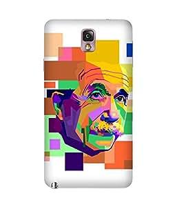 Einstein Art Samsung Galaxy Note 3 Case