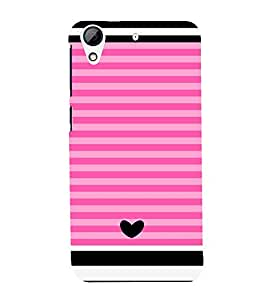 Love Pattern One 3D Hard Polycarbonate Designer Back Case Cover for HTC Desire 728G Dual Sim::HTC Desire 728G::HTC Desire 728