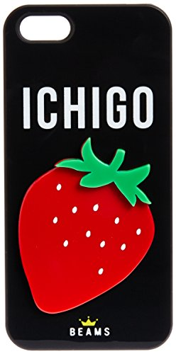 [ビーピーアールビームス] bpr BEAMS BEAMS / ICHIGO iPhone5sケース FUKUOKA 33750462218 19 (BLACK/ONE SIZE)