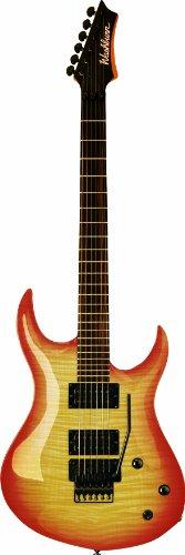 Washburn Xm Series Xmpro2Frfbb Electric Guitar With Floyd Rose, Flame Black Burst