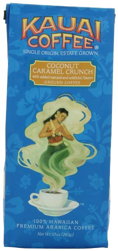 Kauai Coffee Coconut Caramel Crunch Ground, 10 Ounce (Flavored Coffee compare prices)