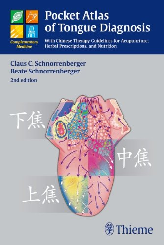 Pocket Atlas of Tongue Diagnosis: With Chinese Therapy Guidelines for Acupuncture, Herbal Prescriptions, and Nutrition (