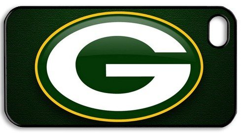 Green Bay Packers Logo NFL HD image case cover for iphone 4/4S black A Nice Present at Amazon.com