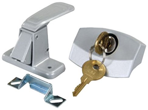 JR Products 10805 Silver Camper Door Latch (Pop Up Camper Trailer Part compare prices)