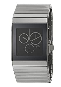 Rado Men's R21824152 Ceramica Black Dial Ceramic Chronograph Watch