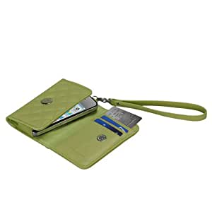 MYBAT IPHONE4MYJK308WP MyJacket Quilted Case for iPhone 4 - Retail Packaging - Green