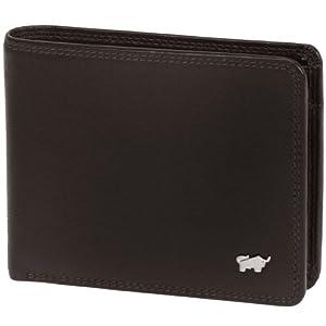 Braun Büffel Golf Geldbörse Leder 12 cm braun