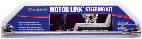 Stearns Motor link auxillary steering kit (Marine Stainless Steel)