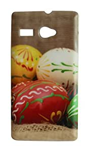 Vcare Shoppe Printed Back case cover for LAVA FLAIR P1