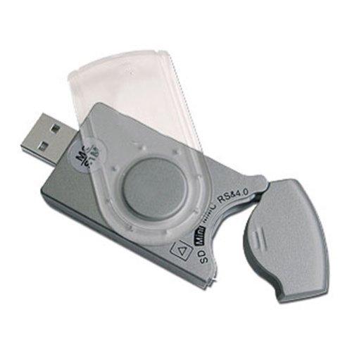 Lecteur de carte mémoire flash et carte sim 14 en 1 USB2.0