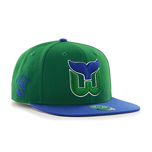 47-brand-hartford-whalers-sure-shot-snapback-cap-green-blue-one-size-fits-most