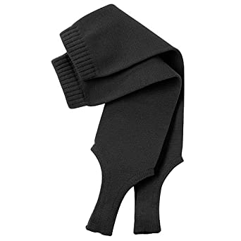 "Twin City 9"" Solid Stirrup Sock 300A1 (black)"
