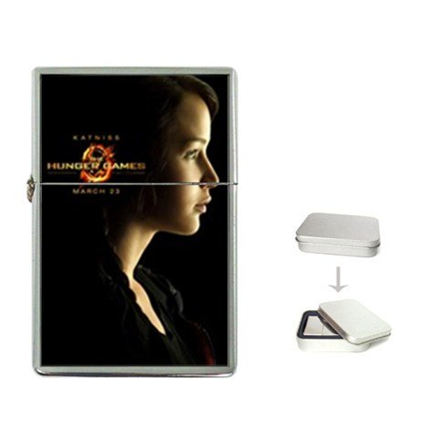Katniss The Hunger Games Collection Flip Top Lighter Movie High Quality Great Gift for Dad Mom Man Woman