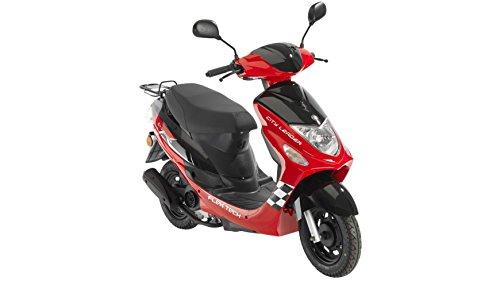 FLEX TECH Motorroller Cityleader, 50 ccm, 45 km/h