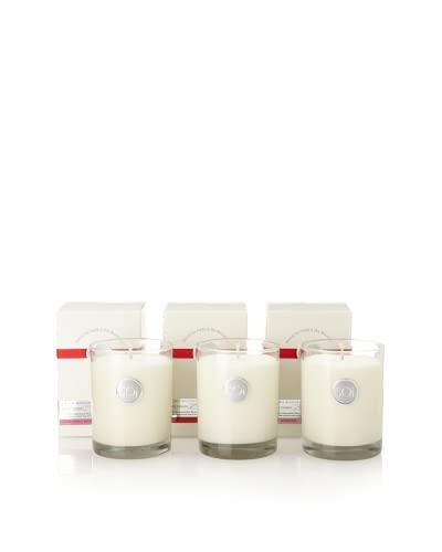 The Soi Co. Set of 3 Luxe Box Candles, Red Currant, Goddess, Love Spell Divine As You See
