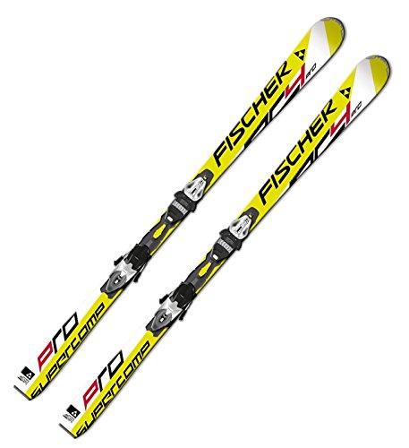 Ski Fischer RC4 Supercomp Pro Powertrack 150cm On Piste Rocker inkl. Bindung RS10PR