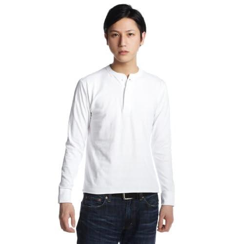 (ヘルスニット)HEALTHKNIT Henry Long Sleeve #906L  WHITE M