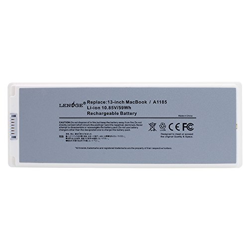 LENOGE-6-Cells-Replacement-Apple-A1181-A1185-108V-5900MAH-Battery-Fit-Laptop-Models-of-Apple-MacBook-13-SeriesCompatible-Part-Numbers-of-A1181-A1185-MA561-MA561FEA-MA561GA-MA561JA-MA561LLAMA561FEAMA47