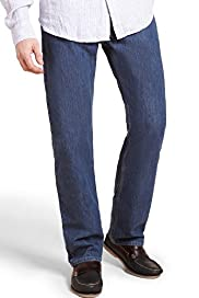 Blue Harbour Stormwear+™ Straight Leg Regular Fit Jeans