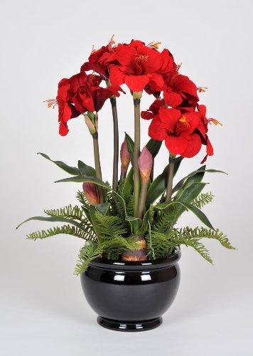 Christmas silk flower arrangement christmas silk flower arrangement artificial amaryllis artificial amaryllis in fishbowl red artificial amaryllis in fishbowl red mightylinksfo