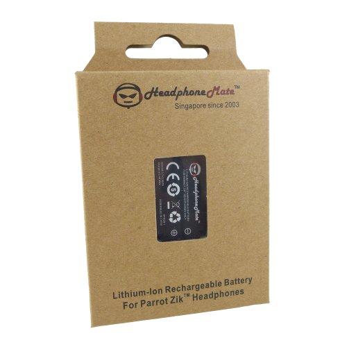Headphonemate Rechargeable Battery For Parrot Zik Headphones