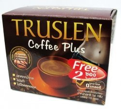 10Sachets Free 2Sachets TRUSLEN INSTANT COFFEE MIX POWDER COFFEE PLUS Sugar Free, Low Fat, NO Cholesteral 160g (Mr Coffee Airpot compare prices)