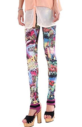 Printed Pattern Leggings (Printed Pattern Leggings)