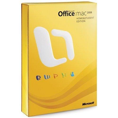 Office Mac 2008 Familial et Etudiant
