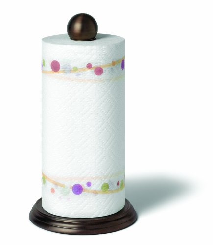 Spectrum 36724CAT Luna Paper Towel Holder - Bronze