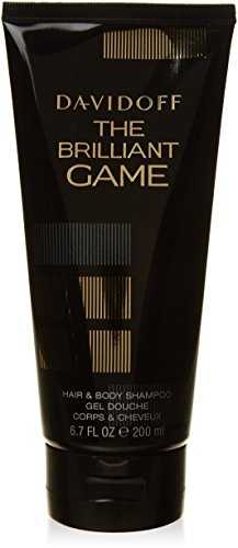 Davidoff The Game Luminoso homme / uomini, Hair & Body Shampoo, 1er Pack (1 x 200g)