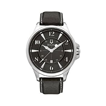 This watch is a great addition to any collection. It features a bold design centered on its 44mm stainless steel case and patent leather band. The sleek black face makes you stand out it the crowd and will always get you noticed. Additional features ...