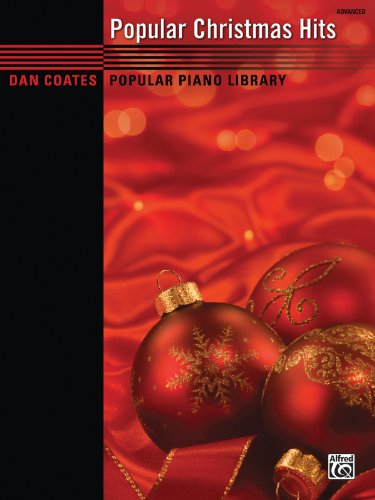 Dan Coates Popular Piano Library - Popular Christmas Hits