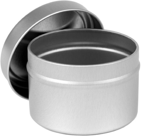 CandleScience 12 Piece Small Candle Tin, 4 oz (Metal Container With Lid compare prices)