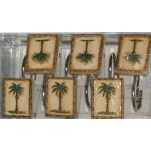 PALM TREE WINDOW CURTAINS