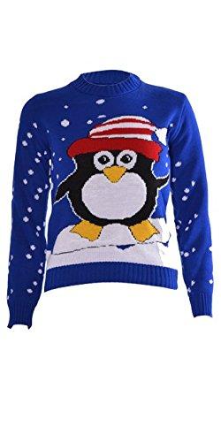 Kids-Unisex-Children-Girls-Boys-Knitted-Christmas-Xmas-Aztec-Jumper-Sweater-Top