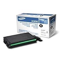 Samsung CLT-K508L Black Toner Cartridge 5K High Yield
