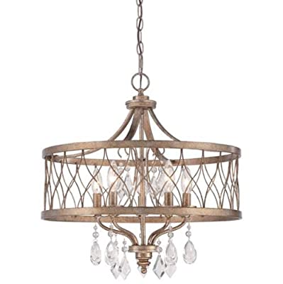 Minka Lavery 4404-581 5 Light Single Tier Chandeliers from the West Liberty Coll,