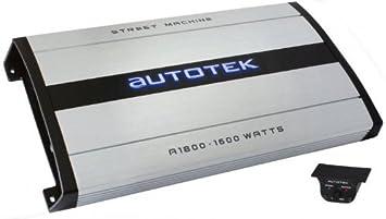 Autotek A1800 Street Machine Amplificateur monobloc pour autoradio