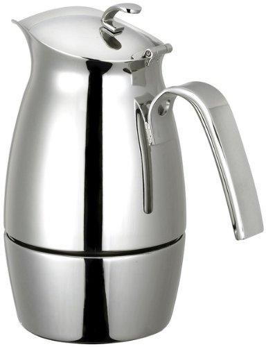 Cuisinox COF-B10 Bella 10-Cup Espresso Coffeemaker