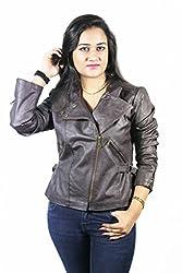 Launcher Full Sleeves Women's Biker Jacket