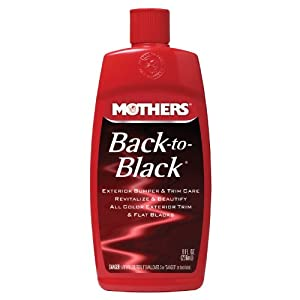 Mothers 06108 Back-To-Black - 8 oz