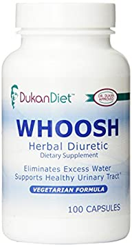 Dukan Diet Whoosh Herbal Diuretic, 100 Count