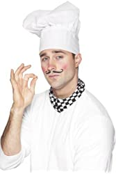 Adult's Chef Costume Hat