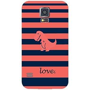 Samsung Galaxy S5 Love One Matte Finish Phone Cover - Matte Finish Phone Cover