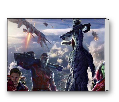 Funnyone Custom Modern Wall Art Decoration for Home Guardians Of The Galaxy Canvas Prints (Guardians Of The Galaxy Decorations)