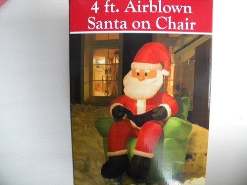 Santa Blow Up front-1039673