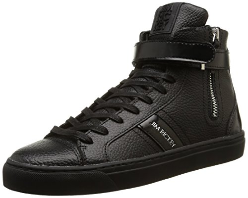 Jim Rickey - Pivot, Sneakers da uomo, nero (tumbled/matt patent black/black), 44