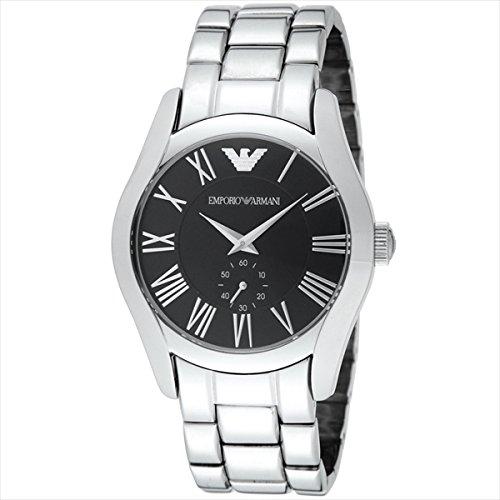 (エンポリオアルマーニ) EMPORIO ARMANI エンポリオアルマーニ 時計 メンズ EMPORIO ARMANI AR0680 クラシック 腕時計 ウォッチ シルバー/ブラック[並行輸入品]